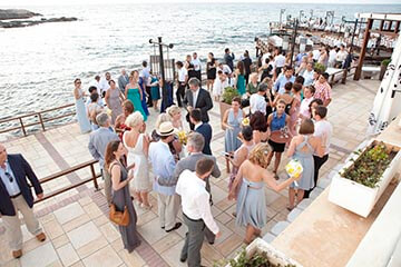 wedding by the sea in North Cyprus