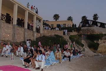 wedding by the sea (Karpaz) in North Cyprus