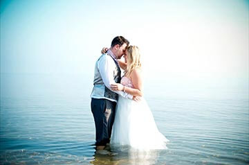 wedding by the sea in North Cyprus - Getting married by mediterranean sea
